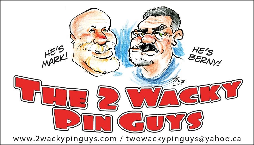 Business Cards | 2 Wacky Pin Guys | Bernard Reischl | Prometheus ...